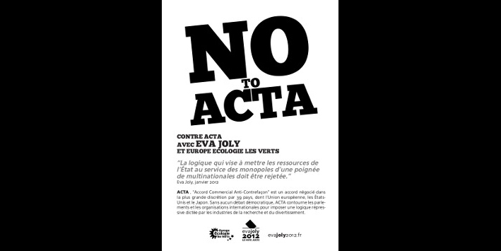 Tract non à ACTA