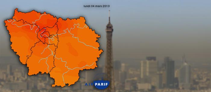 Paris-pollution Airparif