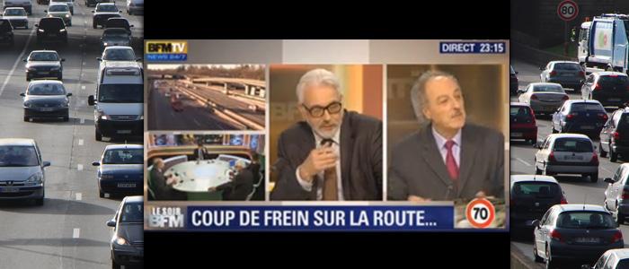Yves Contassot débat à propos de la vitesse sur le périphérique