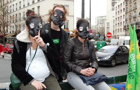 Militants antinucléaires