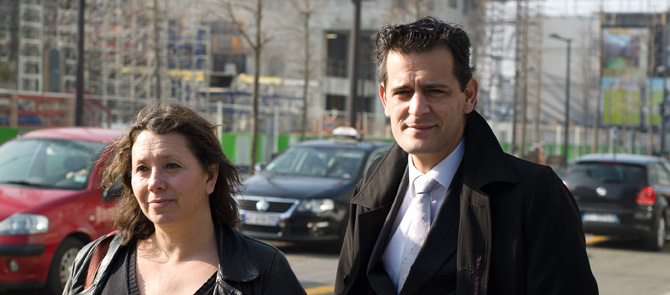 Guillaume Fillon et Nathalie Laville