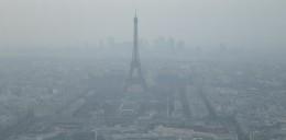 Pollution de l'air sur Paris