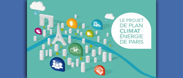 Visuel du Plan Climat Paris