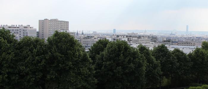 Parc de Belleville. Paris 20e